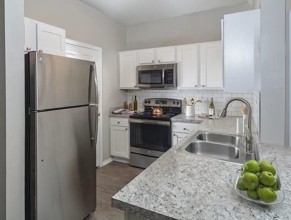 Kitchen Countertops at Addison Park, North Carolina