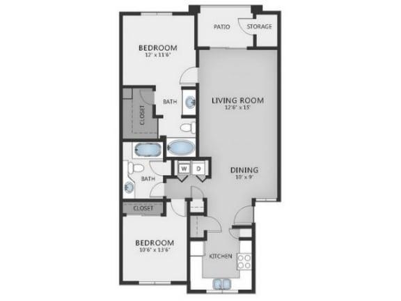 Vesuvio Floor Plan |Altezza High Desert