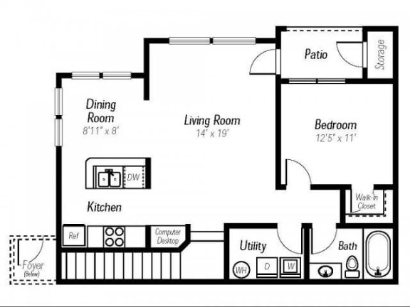 Amber Floor Plan |Ashlar