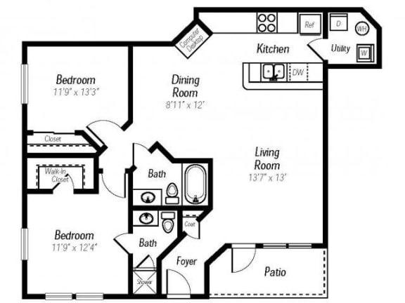 Cinnabar Floor Plan  Ashlar
