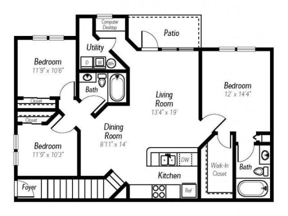 Jasper Floor Plan |Ashlar