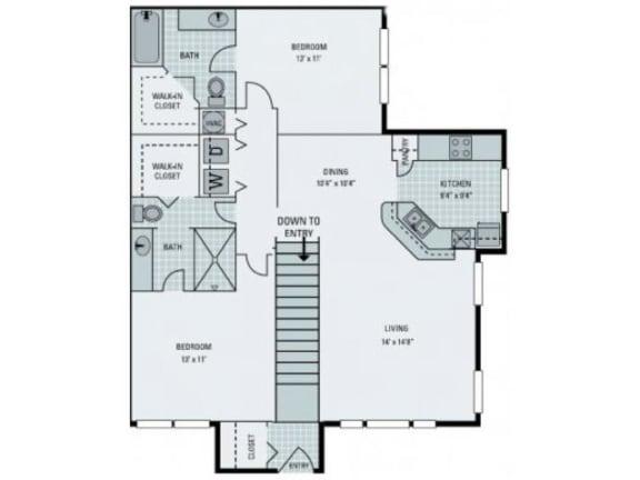 St Lucia Floor Plan  Bay Harbor