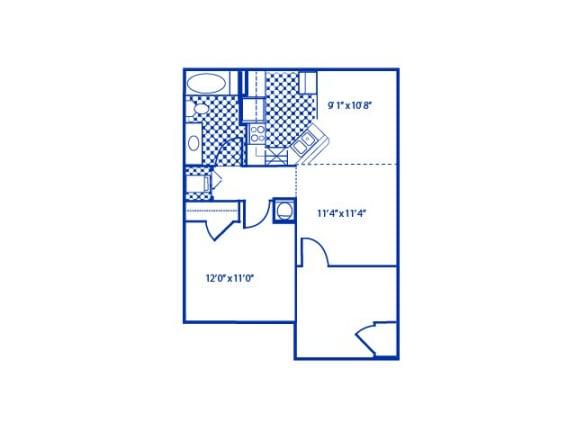 Aspen Floor Plan |Cypress Gardens