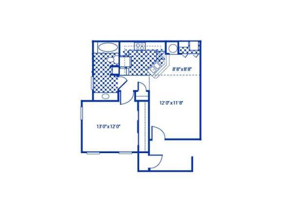 Baywood Floor Plan |Cypress Gardens