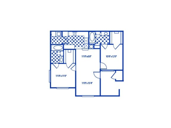 Dogwood Floor Plan |Cypress Gardens