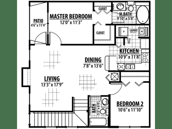 Calder Floor Plan |Estates at Heathbrook
