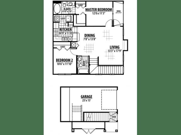 Lexington Floor Plan |Estates at Heathbrook
