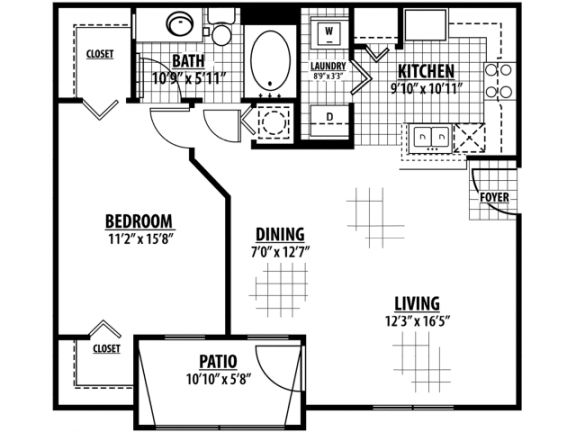 Oxford Floor Plan |Estates at Heathbrook