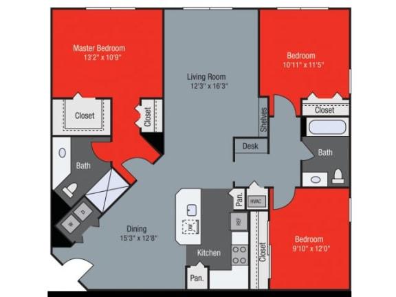 Juniper Floor Plan| Floresta