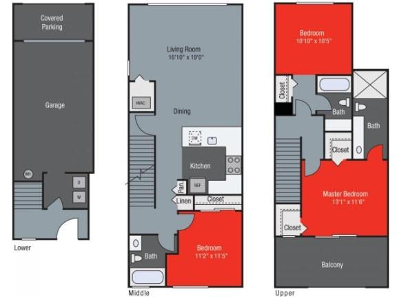 Sandalwood Floor Plan| Floresta