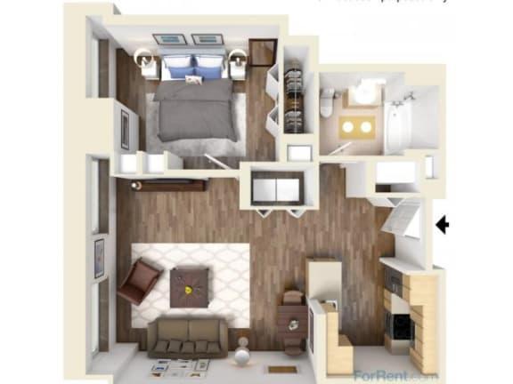 1C Floor Plan |Hartford 21