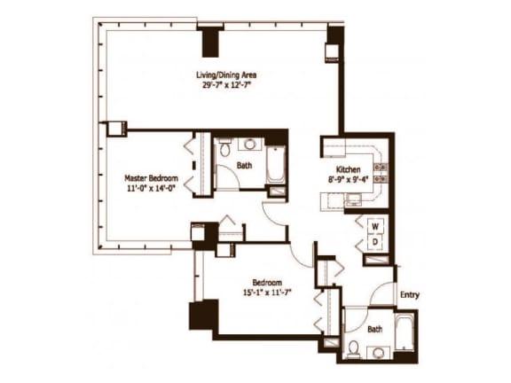 21 Floor Plan |Hartford 21