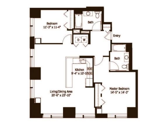 2F Floor Plan |Hartford 21