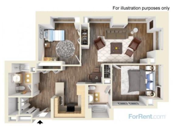 2G Floor Plan |Hartford 21