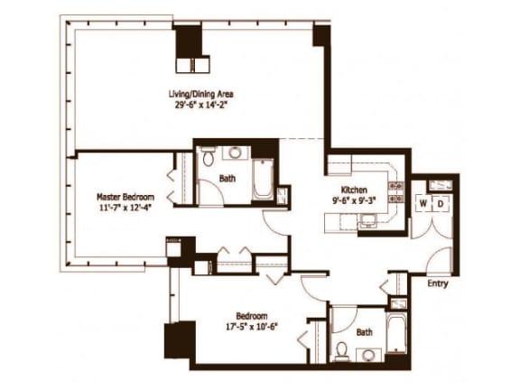 2J Floor Plan |Hartford 21
