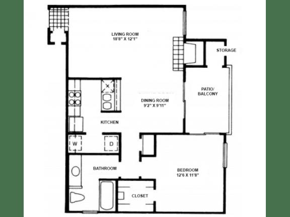 A10 Floor Plan |High Oaks