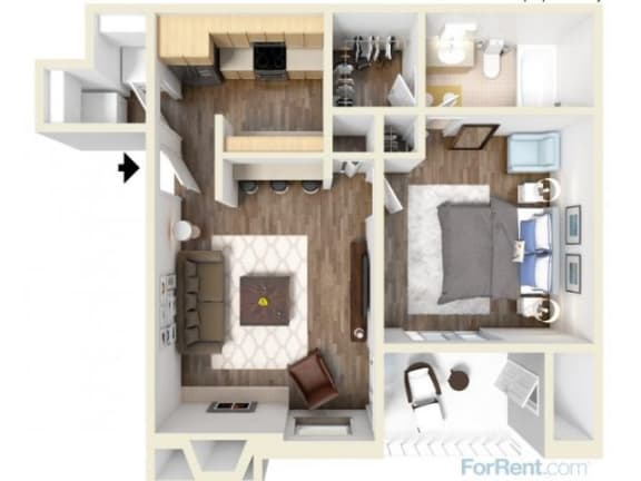 A1 Floor Plan |High Oaks