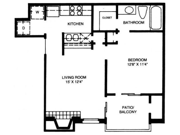 Floor Plan  A2 Floor Plan |High Oaks