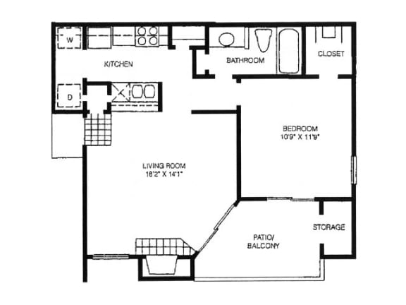 Floor Plan  A6 Floor Plan |High Oaks