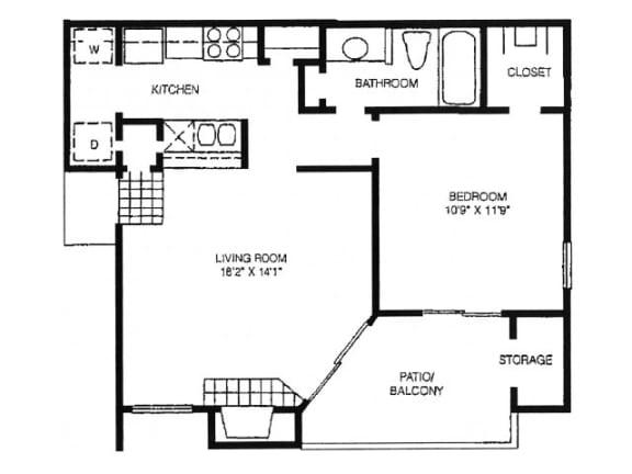A8 Floor Plan |High Oaks