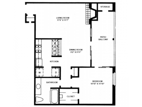 Floor Plan  A9 Floor Plan |High Oaks
