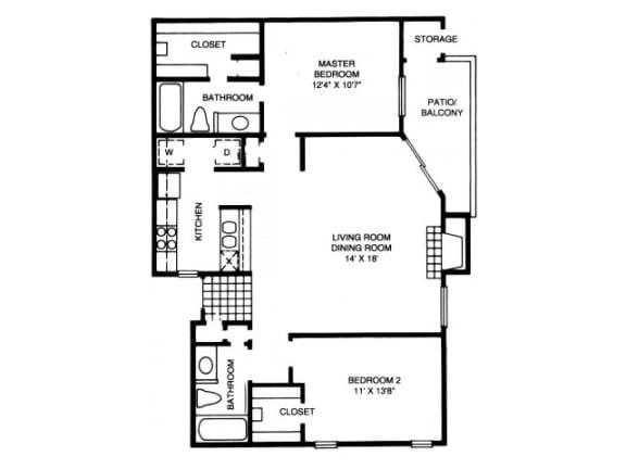 B10 Floor Plan |High Oaks