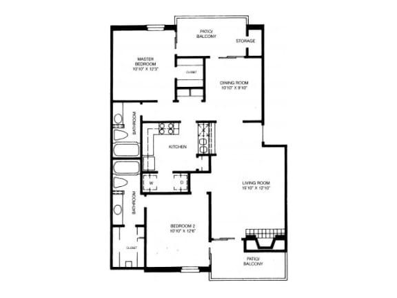 B12 Floor Plan |High Oaks