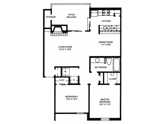 B3 Floor Plan |High Oaks