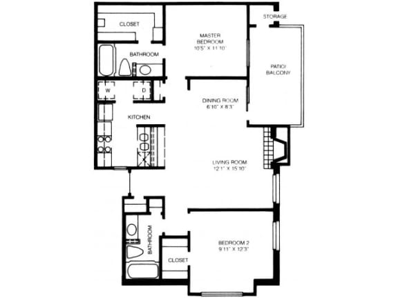 B7 Floor Plan |High Oaks