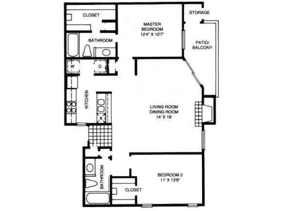 B9 Floor Plan |High Oaks