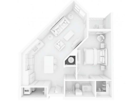 A1 Floor Plan |Inspire Southpark