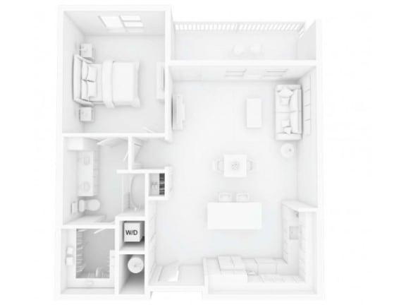 A2M2 Floor Plan |Inspire Southpark