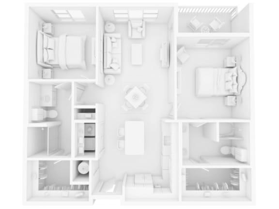 B1 Floor Plan |Inspire Southpark