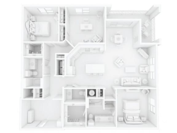 C1M1 Floor Plan |Inspire Southpark