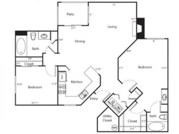 Rio Vista Floor Plan |Links at High Resort