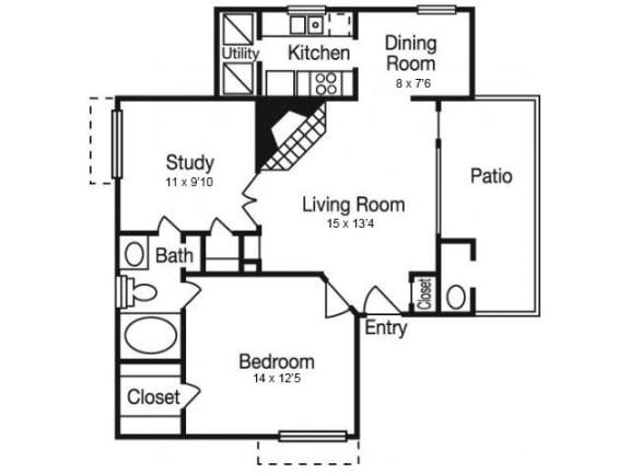 A5 Floor Plan | Madison Arboretum