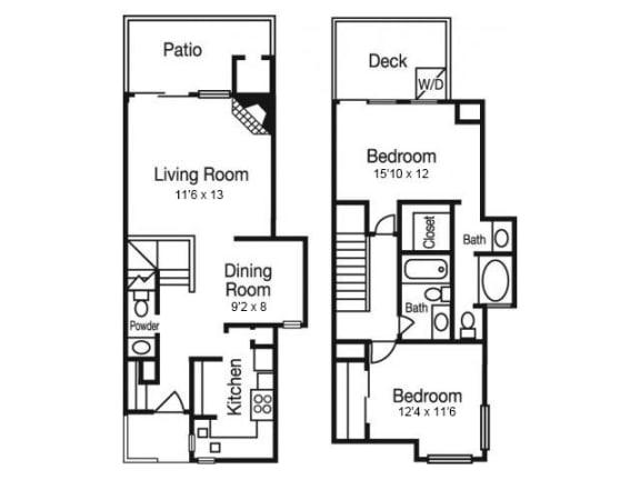 B3 Floor Plan | Madison Arboretum