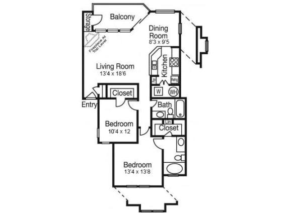 B4 Floor Plan | Madison Arboretum