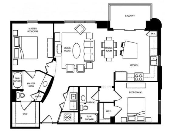 Abbey Floor Plan   The Paramount