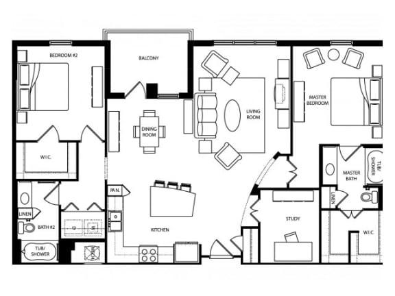 Chelsea Platinum Floor Plan   The Paramount