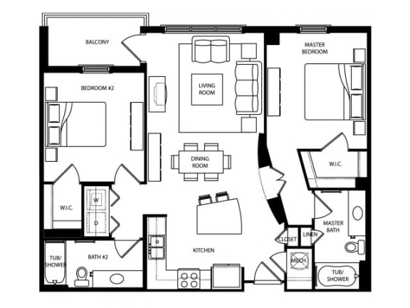 Chrysler Floor Plan | The Paramount