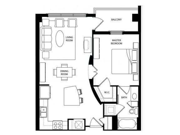 Rockefeller Renovated Floor Plan | Paramount