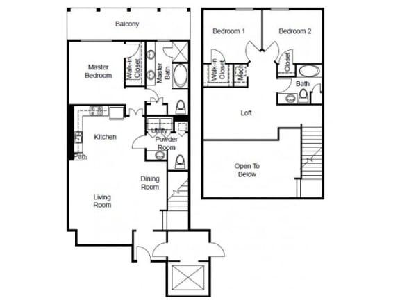 Villas Floor Plan   The Paramount