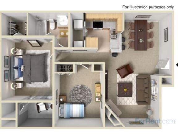 Floor Plan  The Magnolia Floor Plan |Pavilions