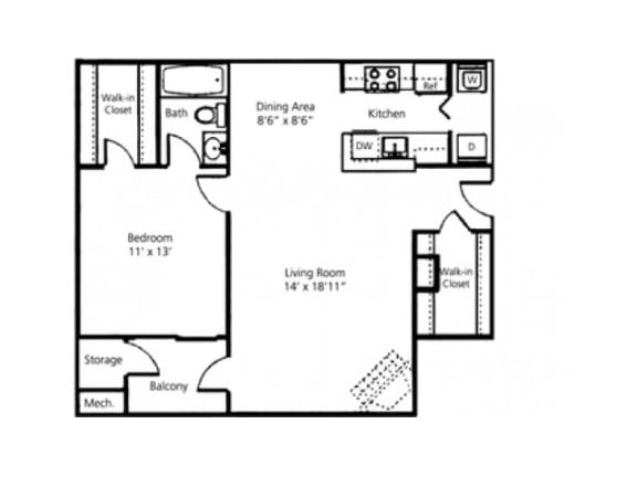 The Oakwood Floor Plan |Pavilions