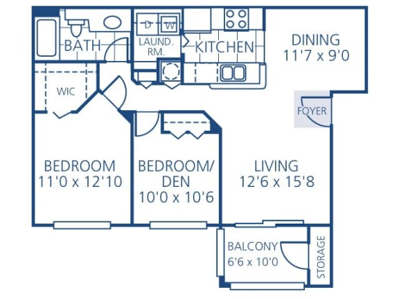 Myers Floor Plan | Promenade at Reflection Lakes