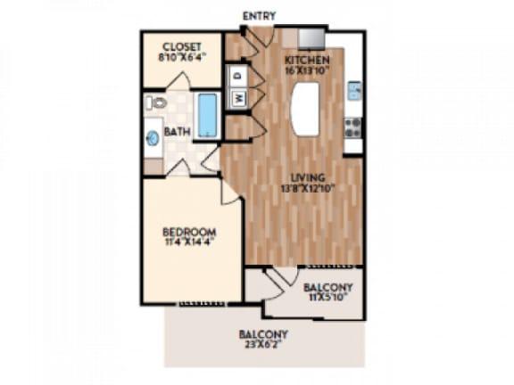 Prato Floor Plan  Rialto
