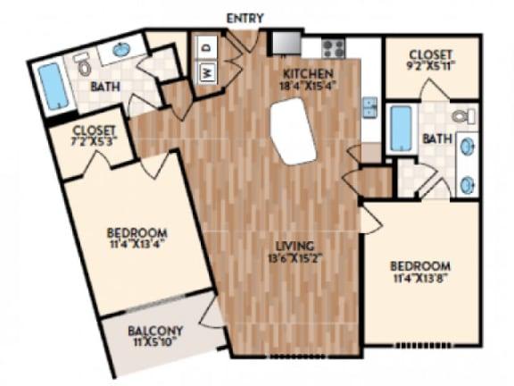 Siena Floor Plan  Rialto