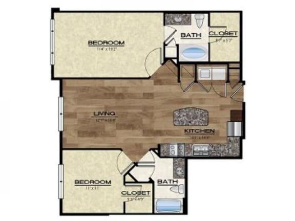 Floor Plan  Tivoli Floor Plan |Rialto