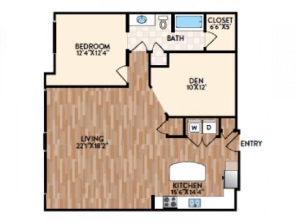Trapani Floor Plan  Rialto
